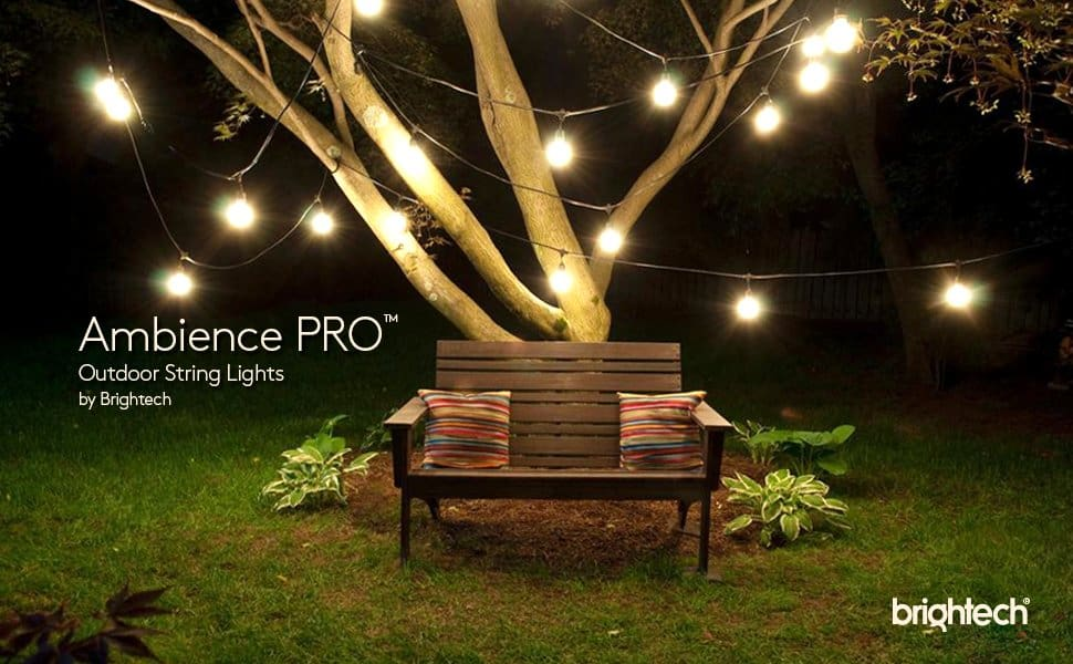 11 best outdoor string lights do not buy before reading this 2018 globe lights rope hanging around for tree porch aloadofball Choice Image