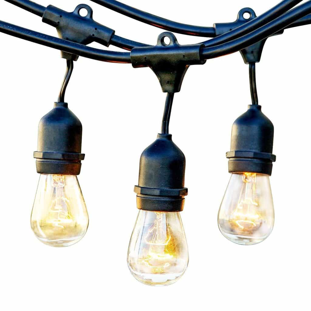 Best Outdoor String Lights: Get Instant Warm Patio Lights Outside? [2017]