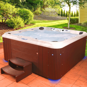 best hot tub review outside
