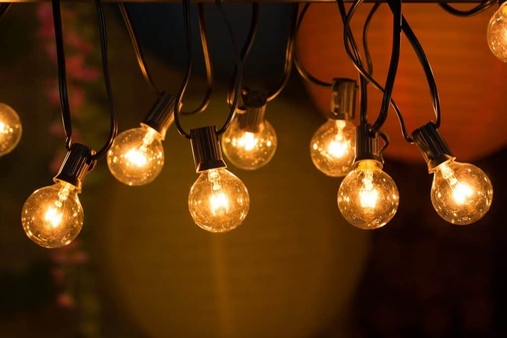Buy Warm Tone Outdoor String Lights