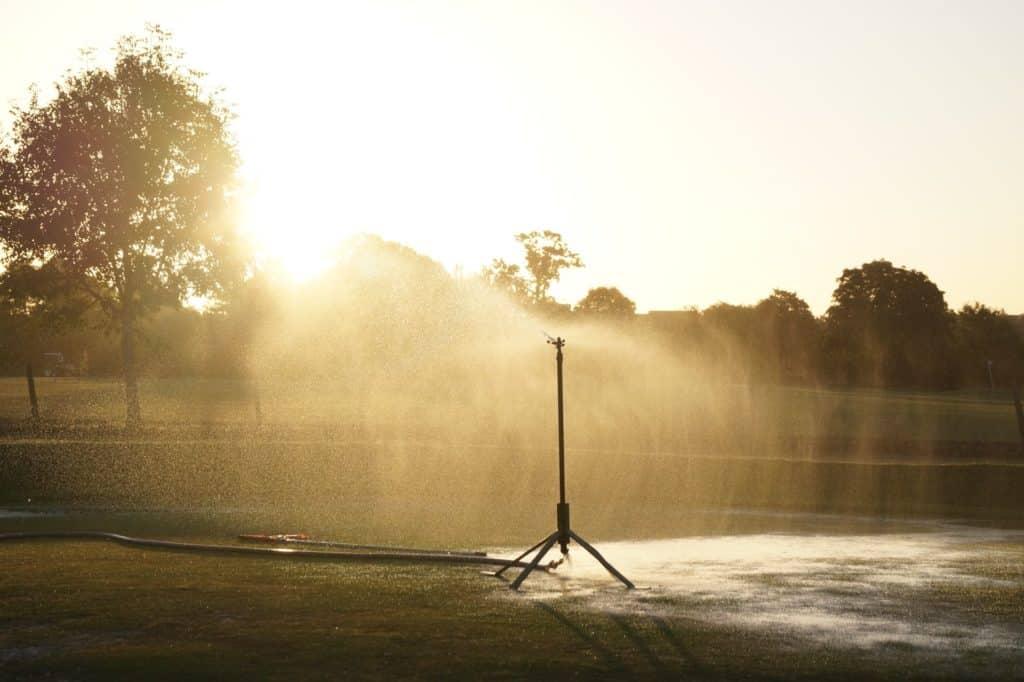 best sprinkler system water