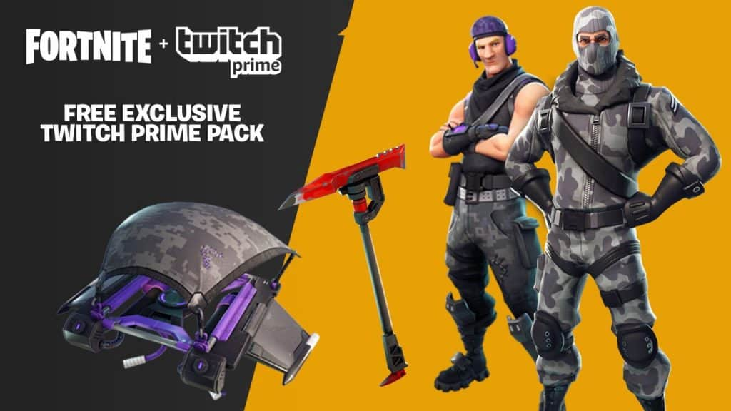 How To Get Twitch Prime Fortnite Skins For Free
