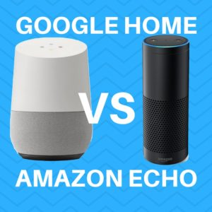 google home vs amazon echo comparison review features
