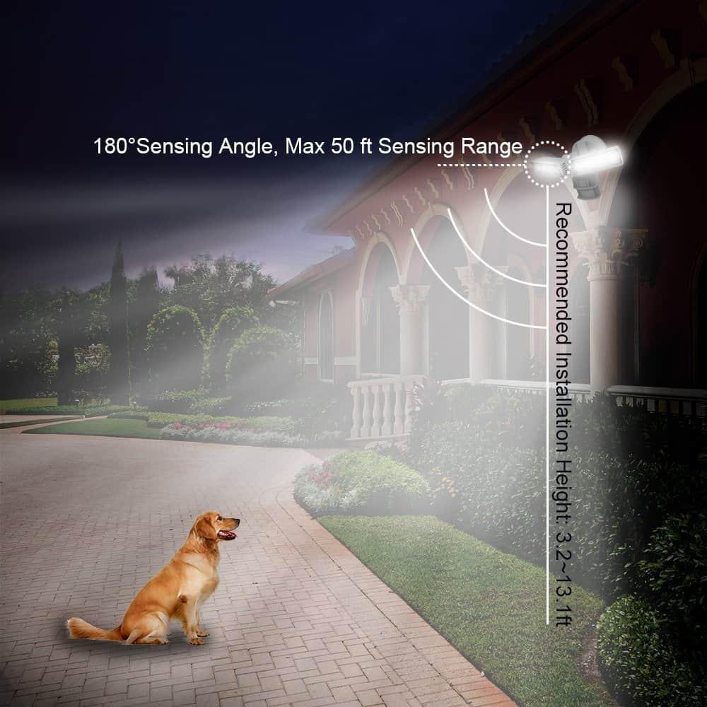 sensing angle and range